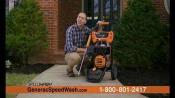 Generac 3200 PSI SpeedWash Pressure Washer TV Spot, 'Cleaning Power' - Thumbnail 2