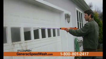 Generac 3200 PSI SpeedWash Pressure Washer TV Spot, 'Cleaning Power' - Thumbnail 3