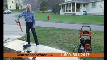 Generac 3200 PSI SpeedWash Pressure Washer TV Spot, 'Cleaning Power' - Thumbnail 5