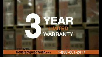 Generac 3200 PSI SpeedWash Pressure Washer TV Spot, 'Cleaning Power' - Thumbnail 8