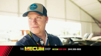 The Mecum Shop TV Spot, '2017 Official Merchandise'