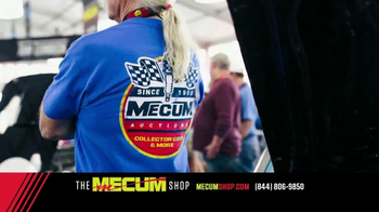 The Mecum Shop TV Spot, '2017 Official Merchandise' - Thumbnail 7