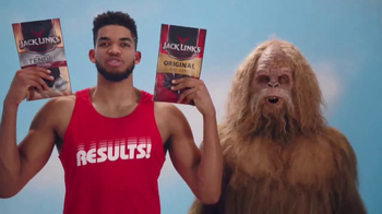 Jack Link's Beef Jerky TV Spot, 'SasquatchWorkout: Kat's Calves' - 942 commercial airings