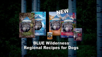 Blue Buffalo BLUE Wilderness TV Spot, 'Wolf Dreams: Regional Recipes' - Thumbnail 10
