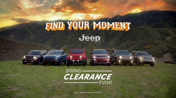 Jeep Spring Clearance Event TV Spot, 'Find Your Moment' [T1] - Thumbnail 9