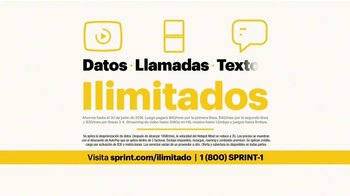 Sprint Unlimited TV Spot, 'Como la mía: hotspot' [Spanish] - Thumbnail 4