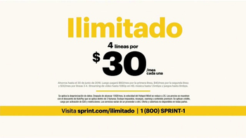 Sprint Unlimited TV Spot, 'Como la mía: hotspot' [Spanish] - Thumbnail 5
