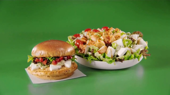 Wendy's Fresh Mozzarella Chicken Sandwich and Salad TV Spot, 'Taste Fresh' - Thumbnail 7