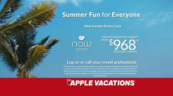 Apple Vacations TV Spot, 'Childhood Summer Vacations' - Thumbnail 5