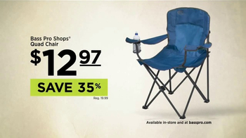 Bass Pro Shops Outdoor Escape Sale TV Spot, 'Quad Chairs' - Thumbnail 5