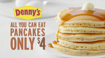 Denny's All You Can Eat Pancakes TV Spot, 'More Fluff' - Thumbnail 8