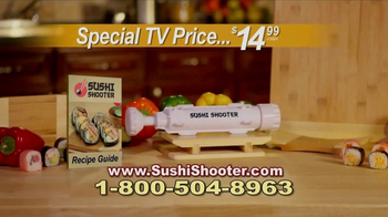Sushi Shooter TV Spot, 'Shoot It Out' - Thumbnail 6