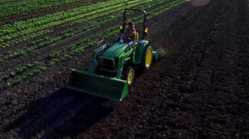 John Deere 3025E Tractor TV Spot, 'Dream Come True' - Thumbnail 5