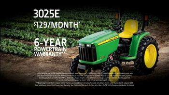 John Deere 3025E Tractor TV Spot, 'Dream Come True' - Thumbnail 7