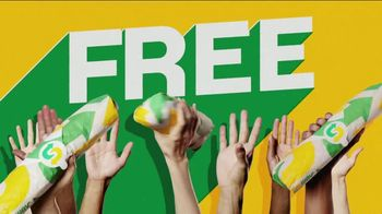 Subway World Sandwich Day TV Spot, 'Global Live Feed Event' - Thumbnail 4
