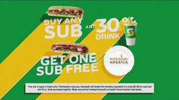 Subway World Sandwich Day TV Spot, 'Global Live Feed Event' - Thumbnail 9