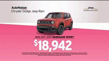 AutoNation Ram Power Days TV Spot, 'Ram 1500 or Jeep Renegade' - Thumbnail 7