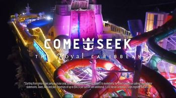 Royal Caribbean Cruise Lines TV Spot, 'Not a Staycation' Song by Boys Noize - Thumbnail 10