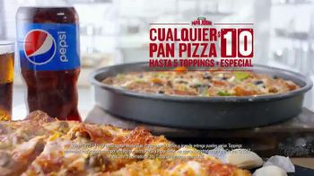 Papa John's Pan Pizza TV Spot, 'Verificar nuestro trabajo' [Spanish] - Thumbnail 7