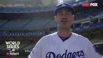 YouTube TV TV Spot, 'FOX: 2017 World Series: Dodgers' Feat. Cody Bellinger - 10 commercial airings