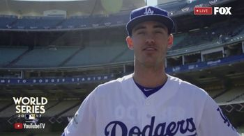 YouTube TV TV Spot, 'FOX: 2017 World Series: Dodgers' Feat. Cody Bellinger - Thumbnail 5