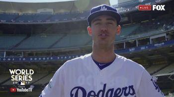 YouTube TV TV Spot, 'FOX: 2017 World Series: Dodgers' Feat. Cody Bellinger - Thumbnail 6