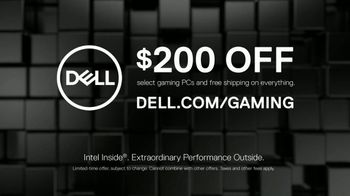 Dell TV Spot, 'Don't Just Play, Game: $200 off' - Thumbnail 9