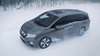 2018 Honda Odyssey TV Spot, 'Cold Weather Test' [T1] - Thumbnail 10