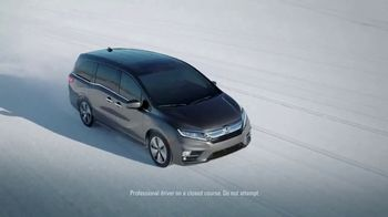 2018 Honda Odyssey TV Spot, 'Cold Weather Test' [T1] - Thumbnail 2