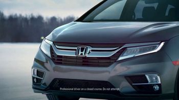 2018 Honda Odyssey TV Spot, 'Cold Weather Test' [T1] - Thumbnail 3