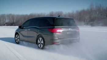 2018 Honda Odyssey TV Spot, 'Cold Weather Test' [T1] - Thumbnail 7