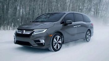2018 Honda Odyssey TV Spot, 'Cold Weather Test' [T1] - 62 commercial airings