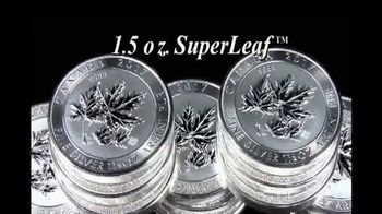 SuperLeaf .9999 Pure 1.5oz Silver Maple Leaf Coins thumbnail