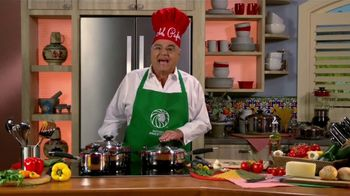 Royal Prestige TV Spot, 'Verduras' con Chef Pepín [Spanish] - 7 commercial airings
