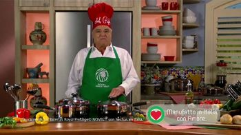 Royal Prestige TV Spot, 'Verduras' con Chef Pepín [Spanish]