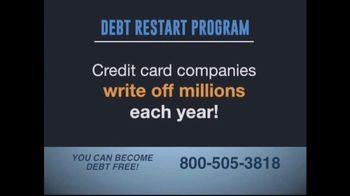 Debt Restart Program TV Spot, 'Credit Card Debt'