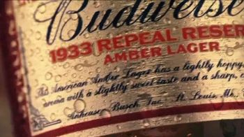 Budweiser 1933 Repeal Reserve Amber Lager TV Spot, 'Introducing' - Thumbnail 5