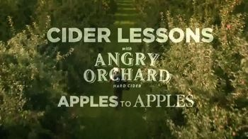 Angry Orchard TV Spot, 'Cider Lessons: Ep. 1: Apples to Apples' - Thumbnail 1