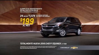 2018 Chevy Equinox TV Spot, 'Nueva generación: chic' [Spanish] - Thumbnail 7