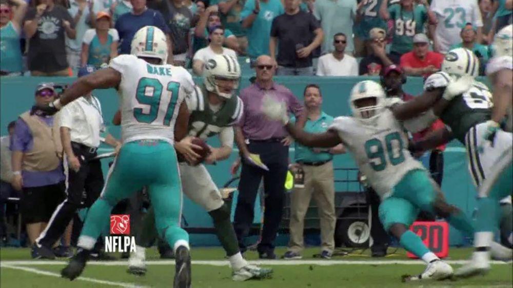 Bud Light TV Commercial, 'Miami Shuts Down the Ravens'
