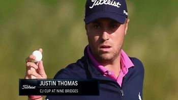 Titleist TV Spot, 'Winners' Circle: Justin Thomas' - 3 commercial airings