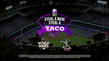 Taco Bell Steal a Base, Steal a Taco TV Spot, '2017 World Series: Maybin' - Thumbnail 10