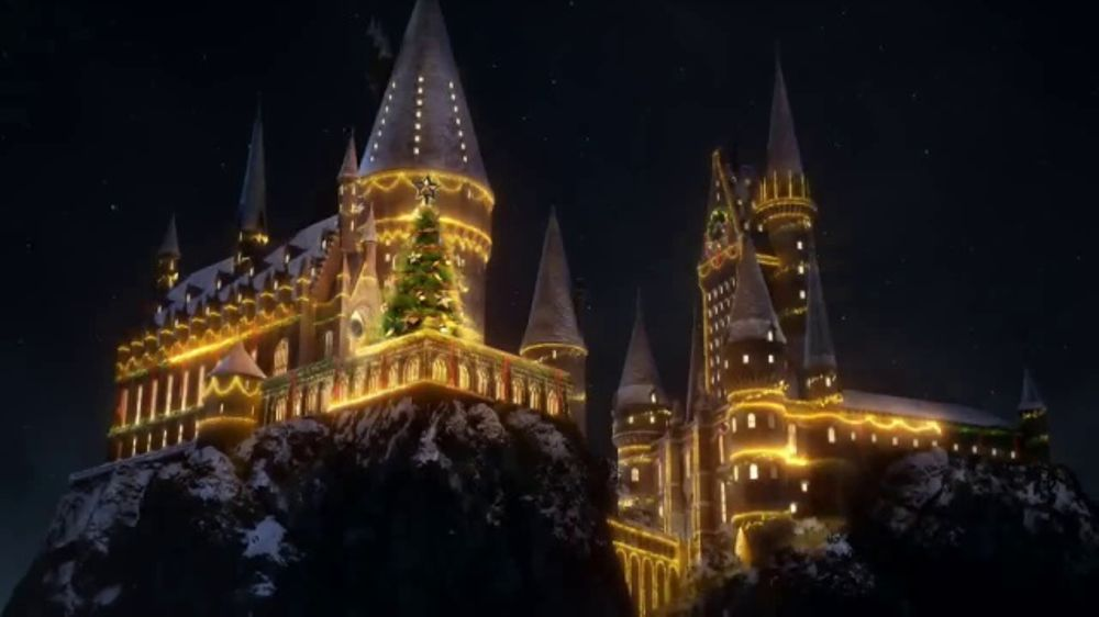 Christmas At Universal Studios Hollywood.Universal Studios Hollywood Tv Commercial Christmas In The Wizarding World Video