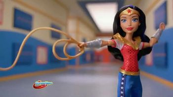 DC Super Hero Girls Action Dolls TV Spot, 'Wonder Woman' - 156 commercial airings