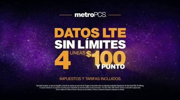 MetroPCS Unlimited LTE Data TV Spot, 'Cake' [Spanish] - Thumbnail 7