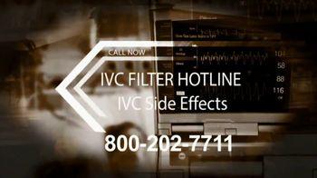 IVC Filter Helpline TV Spot, 'Compensation'