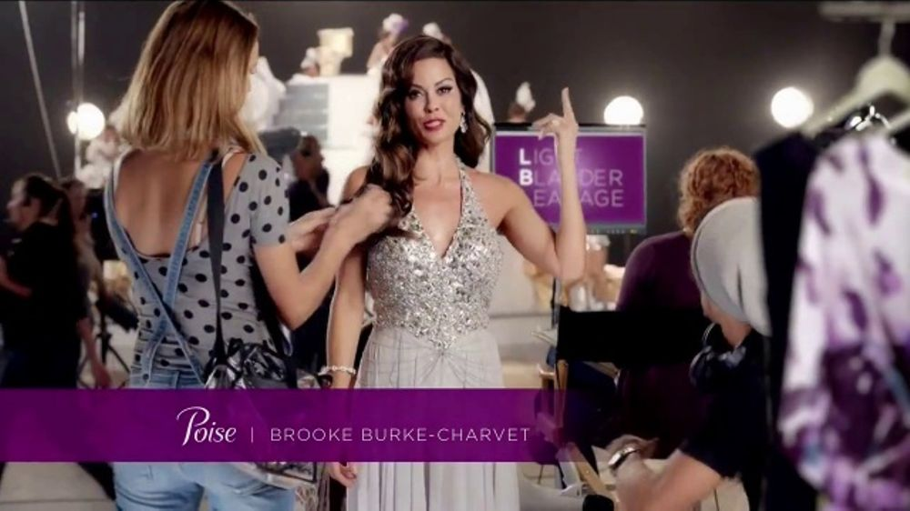 Poise Pads TV Commercial, 'LBL Talk' Featuring Brooke Burke-Charvet