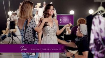 Poise Pads TV Spot, 'LBL Talk' Featuring Brooke Burke-Charvet - Thumbnail 1
