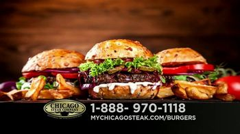 Chicago Steak Company Steak Burgers TV Spot, 'Tender and Juicy' - Thumbnail 7