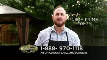Chicago Steak Company Steak Burgers TV Spot, 'Tender and Juicy' - Thumbnail 2